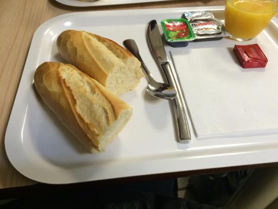 Morschwiller-le-Bas, Frankrike: Petit déjeuner !!!!
