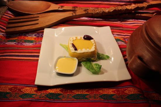 Restaurant Amazonas: Causa Réllena