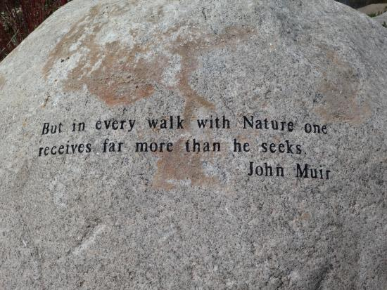 John Muir Quote Picture Of The John Denver Sanctuary Aspen