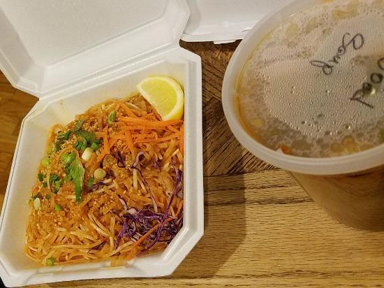 Bangkok West Cuisine: Takeout — Pork Phad Thai