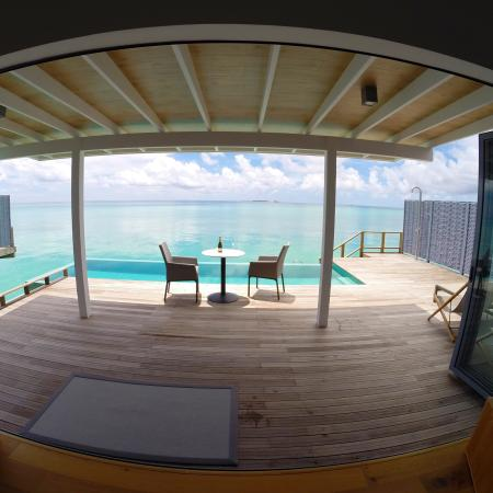 Water Villa With Pool Picture Of Kuramathi Island Resort