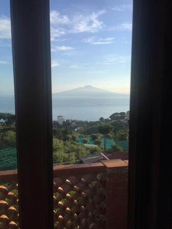 Il Nido Hotel Sorrento: Vista panoramica sul Vesuvio
