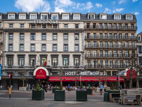 Hotel Metropole: Hotel Building from the Outside