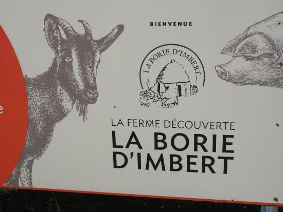 Ferme La Borie D'Imbert: Poster