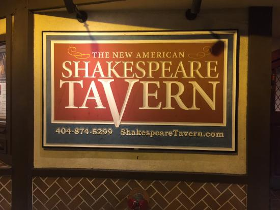 The Shakespeare Tavern Playhouse: The Shakespeare Tavern