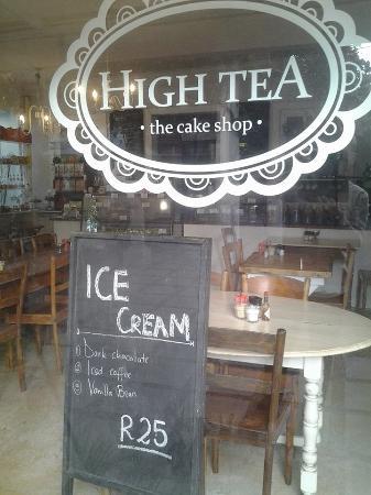 Wynberg, แอฟริกาใต้: High Tea
