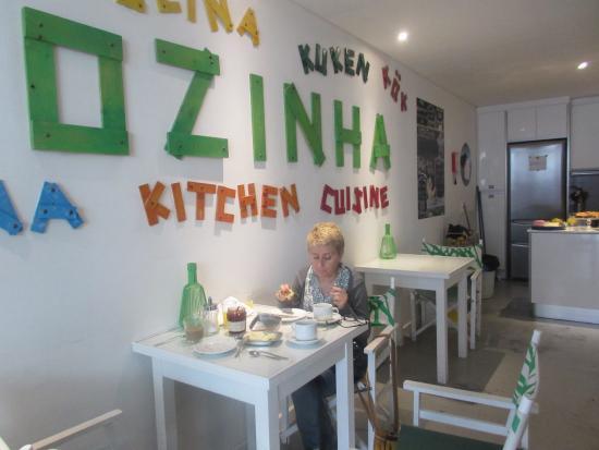 Gallery Hostel: Comedor para el desayuno