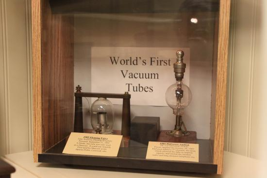 Bloomfield, NY: Don't see many of these any more… Early vacuum tubes.