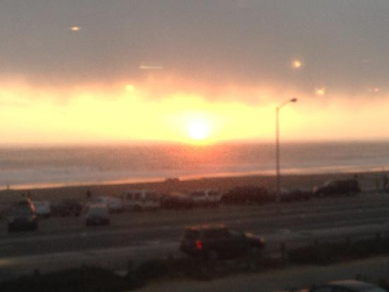Ocean Beach Sunset from Beach Chalet!