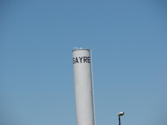 Sayre, OK: Landmark