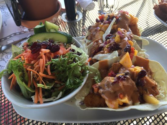 MR MIKES SteakhouseCasual : Shrimp Tacos