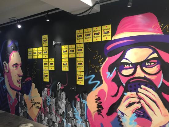 Ekoa Café : Arte na Ekoa