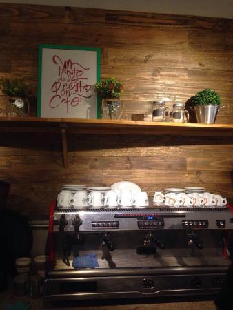 Ekoa Café : Cafeteira Ekoa