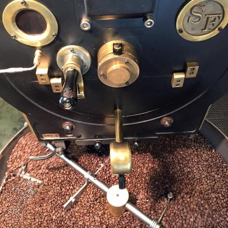 Gold Country Roasters: Beans Roasting