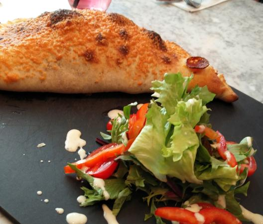 Crusty Calzone Interesting Picture Of Pizza Express