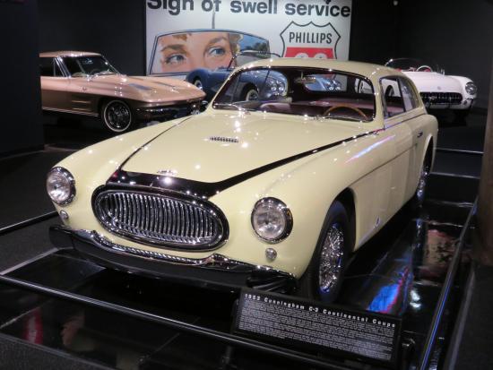 Gateway Colorado Automobile Museum: 1953 Cunningham C-3 Continental Coupe