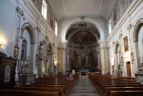Chiesa Sant'Agata al Borgo: Статус мученицы обязывает.