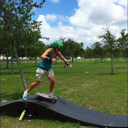 Hialeah, FL: Skateboard Supercross pumptracks at Amelia Earhart Park is where I spend my weekends. Love it th