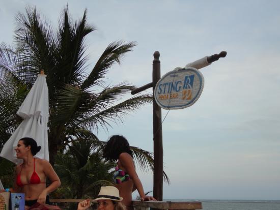 Sting Praia Bar: esse e o lugar