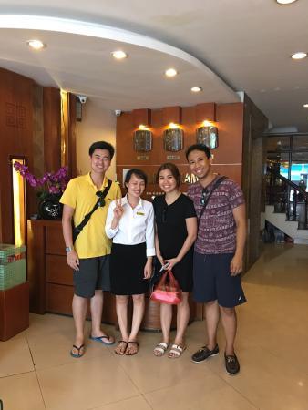 Hanoi Holiday Diamond Hotel : With the very accommodating staff
