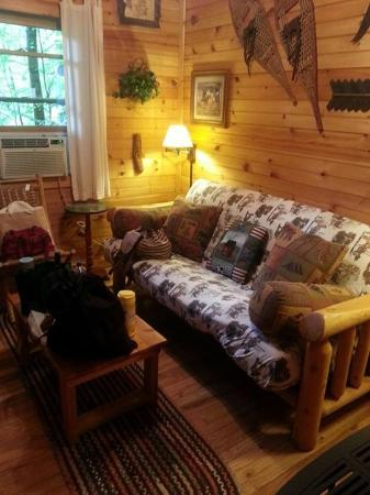 Valle Crucis Farm: The living area