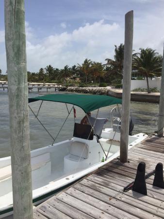 Playa Blanca Villa: 25 ft. boat with newer engine.