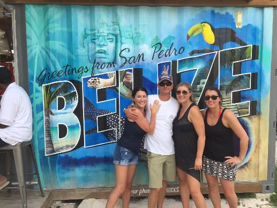 "Playa Blanca Villa: At the ""Truck Stop"" good food and drinks."