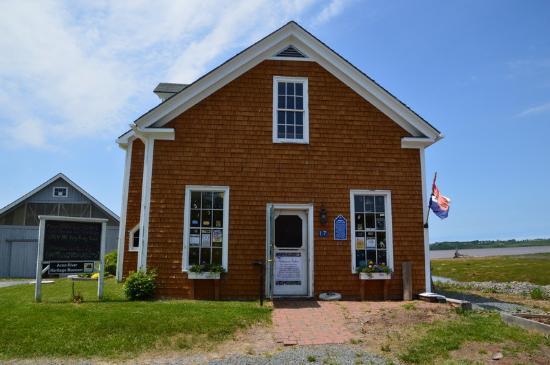 Newport Landing, Канада: Le musée, côté boutique