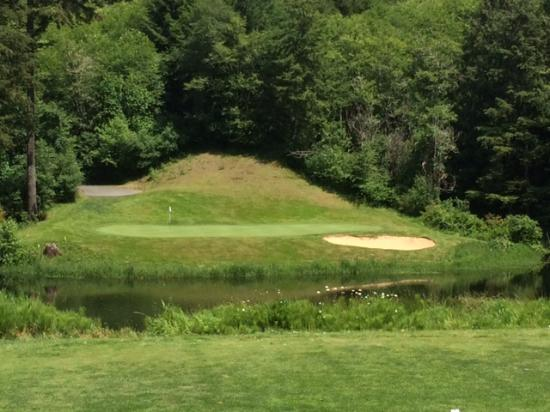 Coos Bay, OR: Looking at hole six Par 3
