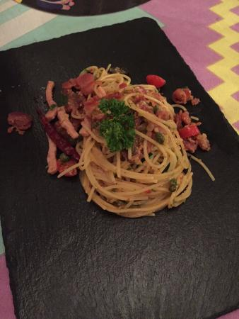 spicy spaghetti
