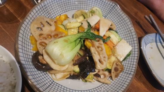 Mixed veggie stir fry picture of odd couple saskatoon for Asian cuisine saskatoon