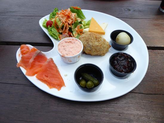 Scottish Ploughman's Lunch