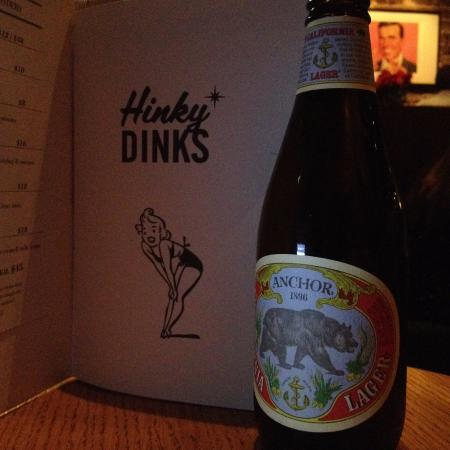Hinky Dinks: I've tried some beer from their recommend, taste very nice