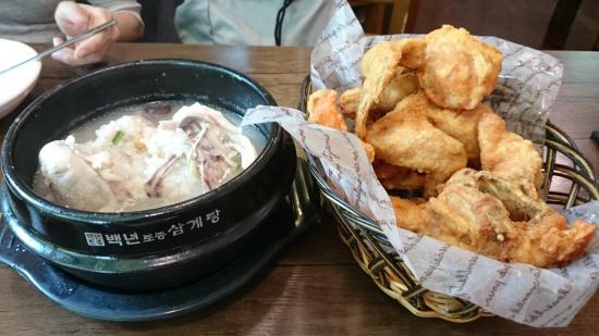 Baeknyeon Tojong Samgyetang