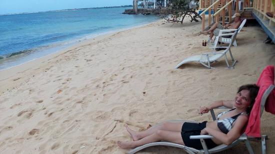 Canoe Bar: Relaxing
