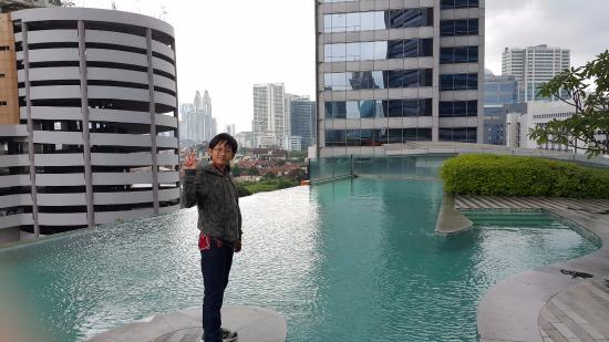 Outdoor Rooftop Pool Picture Of Manhattan Hotel Jakarta Tripadvisor