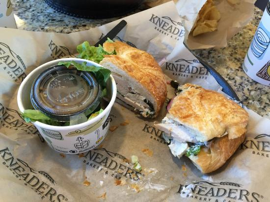 Chicken Salad Croissant Sandwich Picture Of Kneaders Highlands