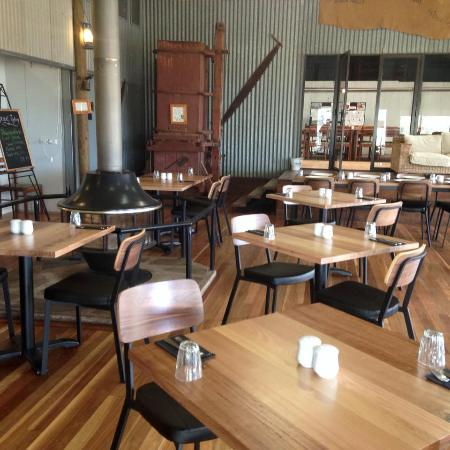 Woolshed Restaurant: new furniture