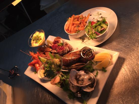 Shipwrecked Seafood and Bar: New menu at ship wrecked from our new award wining chef come try some new cuisine look forward t