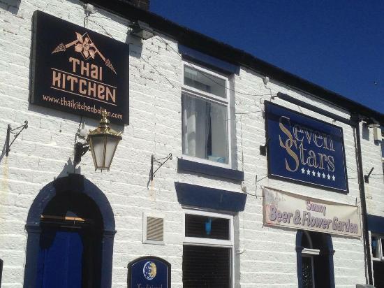 Bolton, UK: Thai Kitchen at the Seven Stars Pub