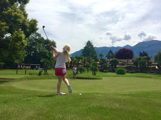 Losone, Switzerland: Un golf per tutti