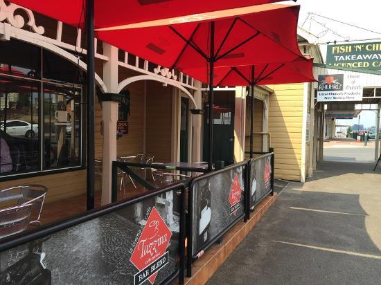 Scottsdale, Αυστραλία: Cafe Rhubaba