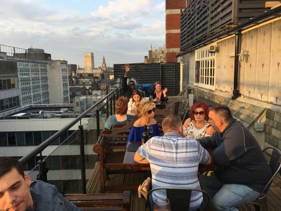 rooftop bar and restaurant - Picture of 30 James Street ...