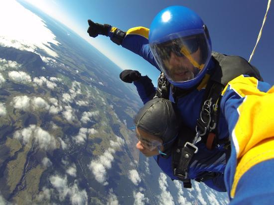 Skydive Taupo : Thanks Kieran!