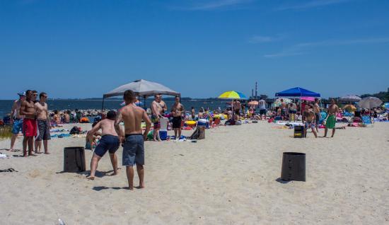 The Yorktown Beach