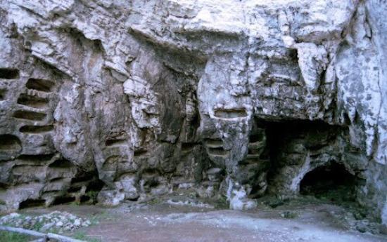 """Vieste, Italien: Oasi archeologico-naturalistico Necropoli  """"La Salata"""""""