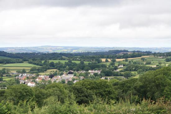 Culmstock, UK: View from Bowhayes Farm
