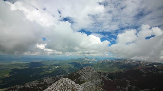 Biokovo Mountain: Aussicht vom Sveti Jure