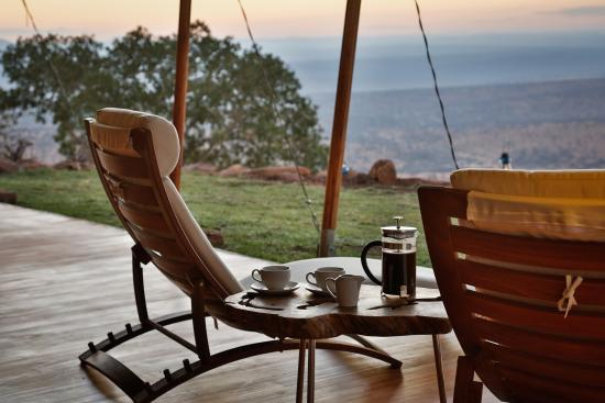Laikipia County, Kenya: Views from Loisaba Tented Camp. Image by Silverless