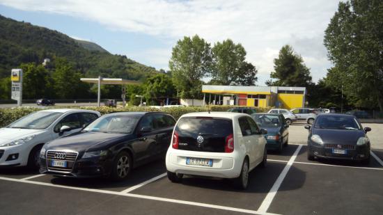 Hotel Arca: parcheggio hotel